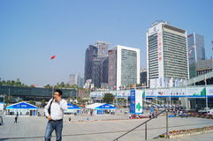 Shenzhen, China: Hi Tech Fair Stock Photo