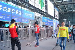 Shenzhen, China: Hi Tech Fair Stock Image