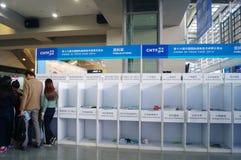 Shenzhen, China: Hi Tech Fair Royalty Free Stock Image