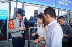 Shenzhen, China: Hi Tech Fair Royalty Free Stock Photos