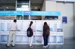 Shenzhen, China: Hi Tech Fair Royalty Free Stock Photo
