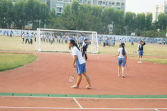 Shenzhen, China: High School Students Sports Division Stock Photos