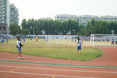 Shenzhen, China: High School Students Sports Division Royalty Free Stock Images