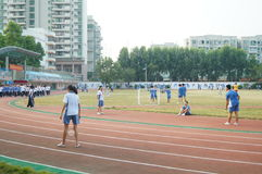 Shenzhen, China: High School Students Sports Division Stock Images