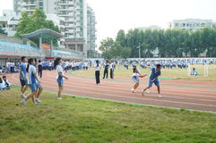 Shenzhen, China: High School Students Sports Division Royalty Free Stock Photography