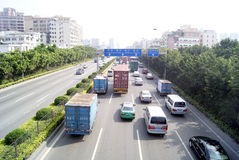 Shenzhen china: highway landscape Stock Images