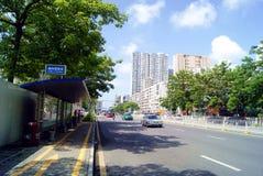 Shenzhen china: highway traffic Stock Photo