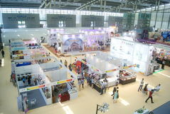 Shenzhen, China: Home Furnishing Supplies Exhibition Royalty Free Stock Image