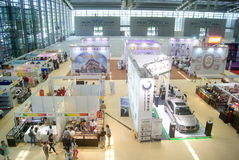 Shenzhen, China: Home Furnishing Supplies Exhibition Royalty Free Stock Photos
