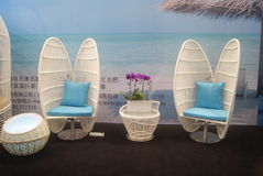 Shenzhen, China: Home Furnishing Supplies Exhibition Royalty Free Stock Photography