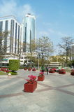 Shenzhen, China: hotel buildings Stock Photos