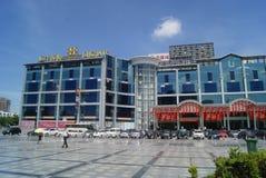 Shenzhen, China: hotel landscape Royalty Free Stock Images