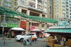Shenzhen, China: Huarun vanguard supermarket Royalty Free Stock Images