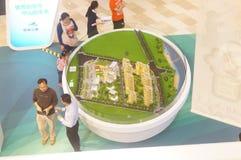 Shenzhen, China: Immobilienverkäufe Lizenzfreie Stockfotos