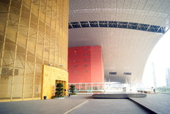 Shenzhen, china: industrial exhibition hall Stock Photography