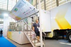 Shenzhen, China: International Electronics Exhibition Royalty Free Stock Photography