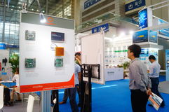Shenzhen, China: International Electronics Exhibition Royalty Free Stock Photo