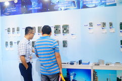 Shenzhen, China: International Electronics Exhibition Royalty Free Stock Photos