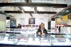 Shenzhen, China: International Gold Jewelry Fair Royalty Free Stock Photos