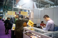 Shenzhen, China: International Gold Jewelry Fair Royalty Free Stock Photography