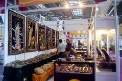 Shenzhen, China: International Gold Jewelry Fair Royalty Free Stock Image