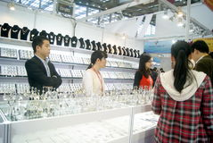 Shenzhen, China: International Gold Jewelry Fair Stock Images