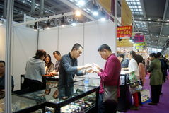 Shenzhen, China: International Gold Jewelry Fair Royalty Free Stock Photo