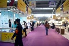 Shenzhen, China: International Gold Jewelry Fair Stock Photos