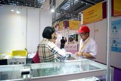 Shenzhen, China: International Gold Jewelry Fair Stock Photography