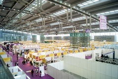 Shenzhen, China: International Gold Jewelry Fair Royalty Free Stock Image