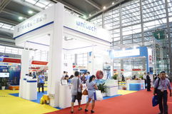 Shenzhen, China: International Logistics Exhibition Royalty Free Stock Photo