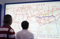 Shenzhen, China: International Logistics Exhibition Royalty Free Stock Photos