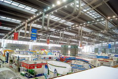 Shenzhen china: international logistics and transportation expo held at the exhibition center Stock Photos