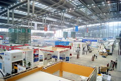 Shenzhen china: international logistics and transportation expo held at the exhibition center Stock Photography