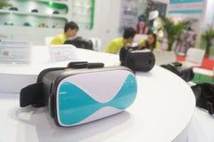 Shenzhen, China: internationale virtuele werkelijkheid, holografische technologietentoonstelling Royalty-vrije Stock Foto's