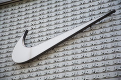 Shenzhen,China - June 24, 2016: Nike brand logo. Nike is a