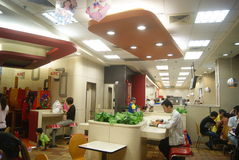 Shenzhen, China: KFC restaurant Stock Photography