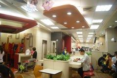Shenzhen, China: KFC restaurant Stock Photography