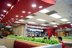 Shenzhen china: kfc restaurants Royalty Free Stock Photos