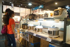 Shenzhen, China: kitchen appliances regional appliance mall Stock Image