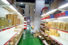 Shenzhen, china: kitchen supplies shopping center Stock Image