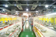 Shenzhen, China: kitchen supplies store Royalty Free Stock Images