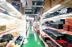 Shenzhen, China: kitchen tableware sales Stock Photography
