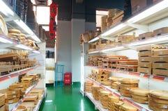 Shenzhen, China: kitchen tableware sales Royalty Free Stock Photo