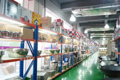 Shenzhen, China: kitchen tableware sales Stock Image