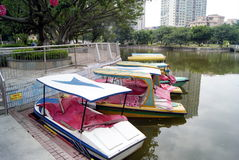 Shenzhen china: lake cruise Stock Photography