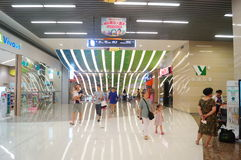 Shenzhen, China: large comprehensive shopping malls Royalty Free Stock Photos