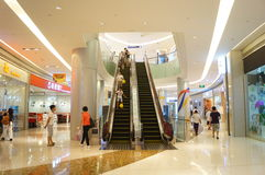 Shenzhen, China: large comprehensive shopping malls Stock Photo