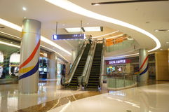 Shenzhen, China: large comprehensive shopping malls Stock Photos
