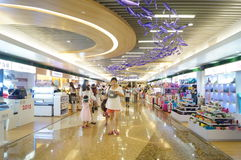 Shenzhen, China: large comprehensive shopping malls Stock Images